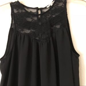 Tops - Black lace blouse